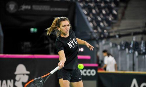 Simona Halep Dubai Doha