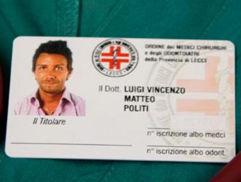 Fals medic italian